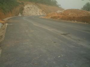 Widikum road work - Under Construction